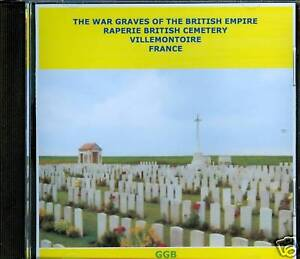 WAR-GRAVES-OF-RAPERIE-BRITISH-CEMETERY-FRANCE-CD