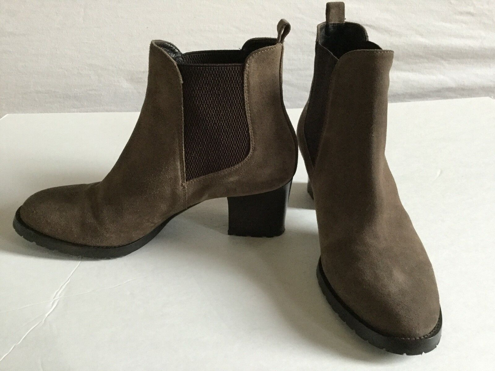 NEW Aquatalia Damenschuhe Fairly Chelsea Braun Suede Marvin Boot by Marvin Suede K 8.5 - Stunning e412c1