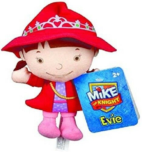 """Fisher Price Mike the Knight Evie Small Plush Toy Stuffed Doll 7/"""" 17 cm BNWOT"""