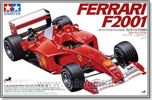 FERRARI Formula 1 model model model kit 1 20 TAMIYA - Vintage NEW Factory Sealed 29f788