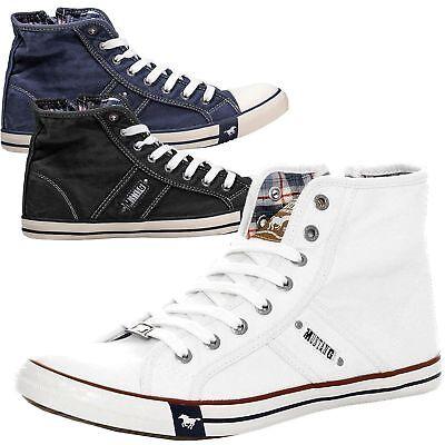 Mustang Herren Schuhe Herrenschuhe Sneaker Turnschuhe Freizeitschuhe 4058 504 | eBay