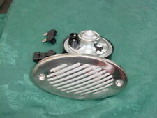 SEA RAY WHALER BOAT HORN FLUSH MOUNT W STAINLESS STEEL COVER  /& OTHERS 12 V NEW