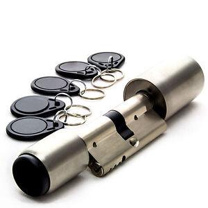 Elektronische Türschloss elektronisches türschloss rfid schließzylinder kabellos