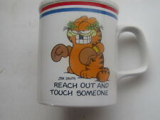 1978 Garfield Mug The Games Cats Play