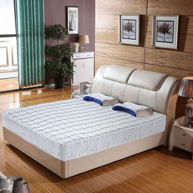 "9/""//10/"" Inch Cozy Memory Foam Mattress Pocket Spring Pillow// Box// Tight Top Style"