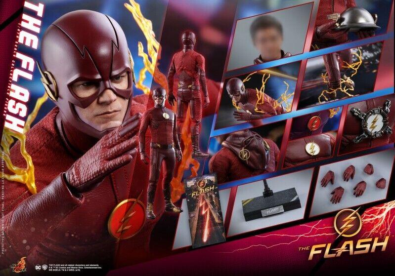Hot Juguetes 1 6 TMS009 DC TV HT Muñeca el Flash Barry Allen Figura De Colección Modelo