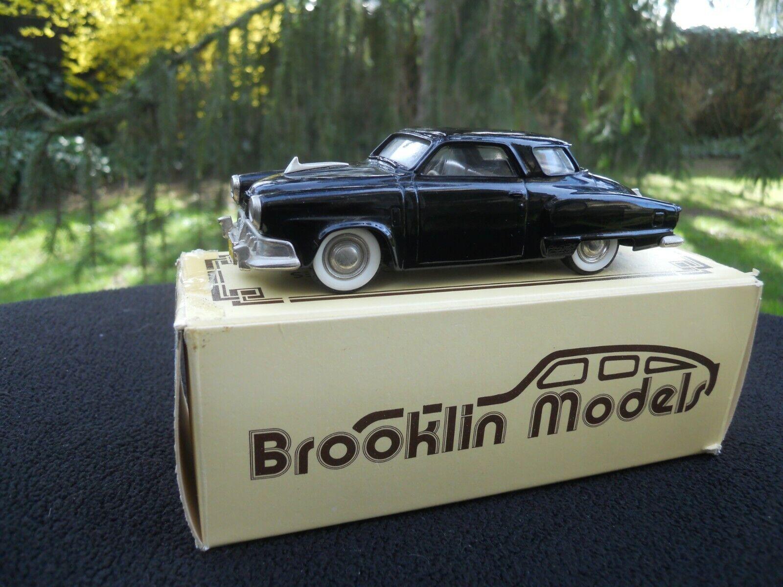 BROOKLIN MODELS MODELS MODELS 17 STUDEBAKER CHAMPION STARLIGHT COUPE 1952 00591f