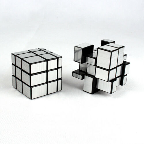 Dysmorphism Mirror Surface Speed Magic Cube 3x3x3 Puzzle for Children /& Adults
