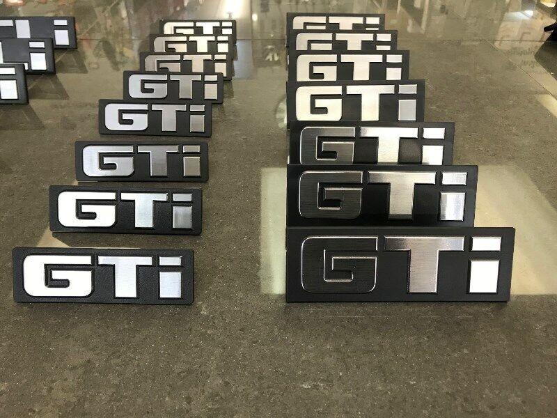Brand New , Original VW GTI Badges