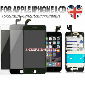For iPhone 6 6S 7 8 Plus LCD Touch Screen Assembly Digitizer+Camera Replace Part