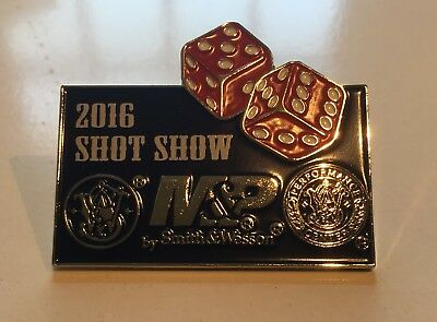 Smith & Wesson Ufficiale 2016 Shot Show Pin Badge- Aspetto Bello
