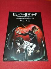Coffret CD Death Note Anime Original Soundtrack # 02 Music Note