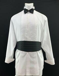 Stafford-Mens-Loose-Tuxedo-Shirt-with-Black-Tie-and-Cumber-Bun-Set-171-2-34-35