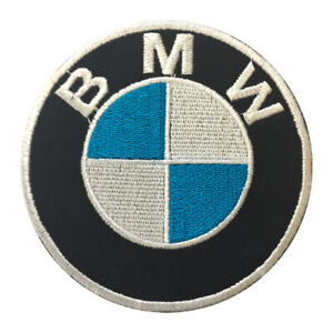 BMW Car Brand Logo Patch Iron On Patch Sew On Embroidered Patch