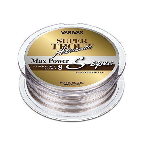MORRIS PE LINE VARIVAS SUPER TROUT Advance MAX POWER S-spec 200m