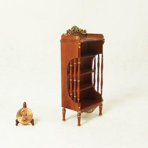 Hansson HanaMini Miniature 1 12 - Walnut DIAPER STAND   Cabinet
