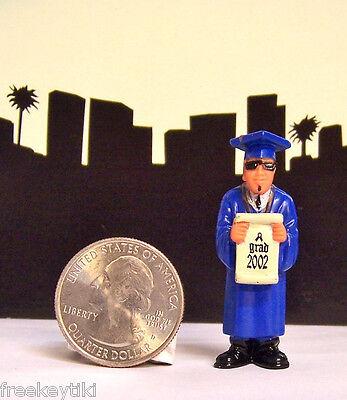 Lil Homies Series # 5 School Boy Graduation Class Grad 2002 Figurine Figure 1
