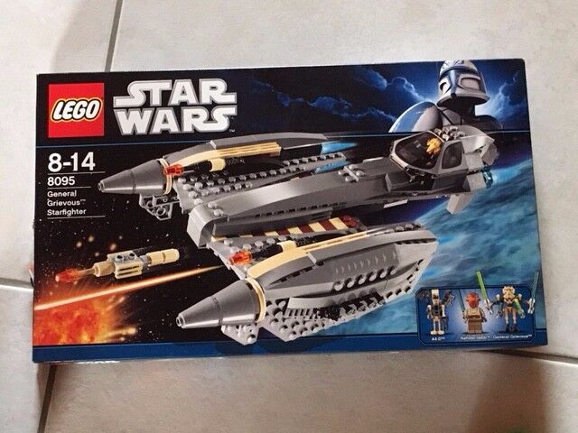 LEGO Star Wars General Grievous' Starfighter (8095)