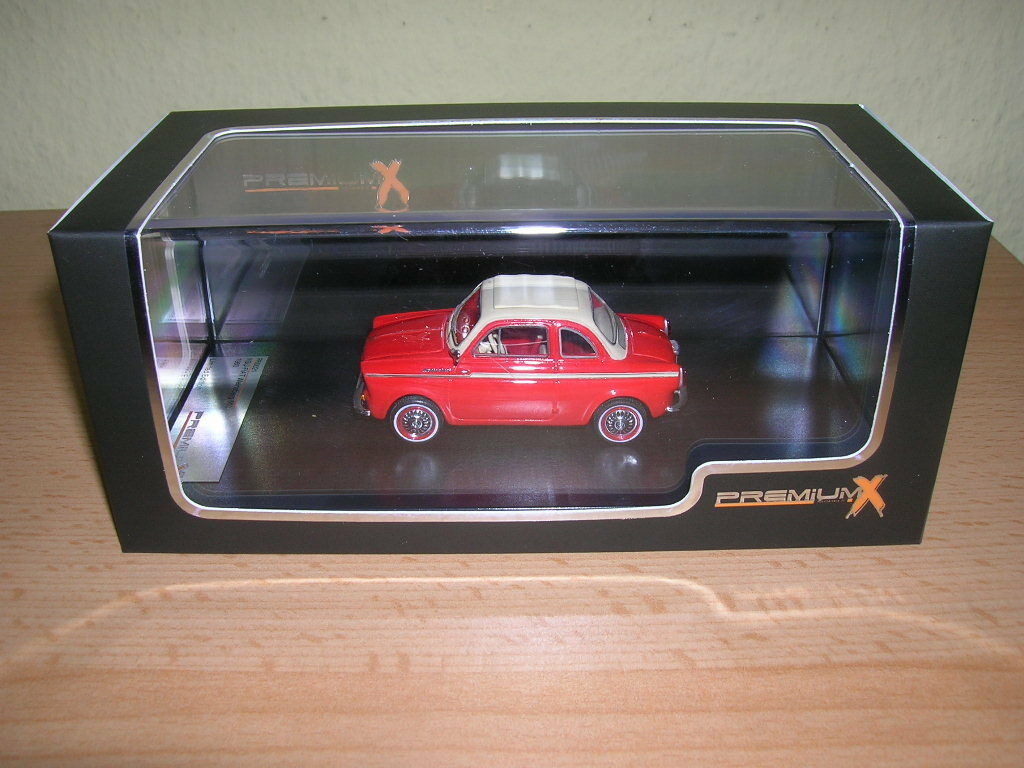 Premium X 1960 NSU-FIAT vigneto 500 ROSSO rosso, 1:43