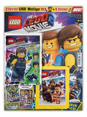 Blue Ocean 1 Display deutsche Ausgabe The LEGO Movie 2 Sammel Stickeralbum