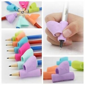 3Pcs-Set-Children-Pencil-Holder-Pen-Writing-Grip-Posture-Correction-Tool-New