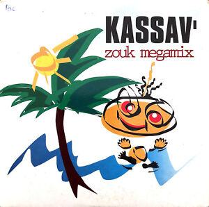 Kassav-039-CD-Single-Zouk-Megamix-France-VG-VG