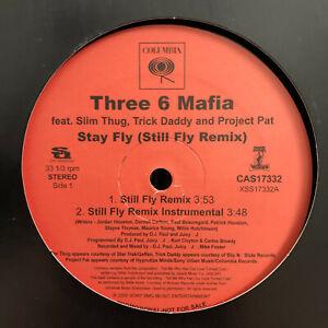 THREE-6-MAFIA-STAY-FLY-STILL-FLY-REMIX-12-034-2005-RARE-TRICK-DADDY