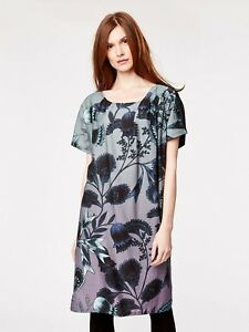 9d796d085 Image is loading SALE-THOUGHT-braintree-BOHO-jacobean-FLORAL-smock-TUNIC-