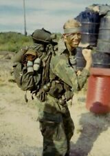 Vietnam War USMC Artillery Dak To 1968 Grainey Glossy 8x10 Photo