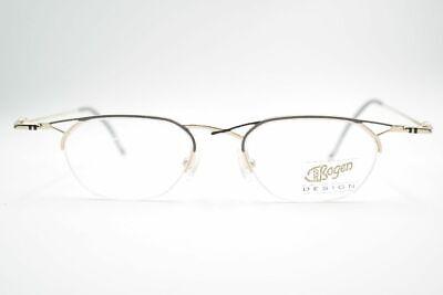 FleißIg Vintage Von Bogen Design Vb 190 Col. D 44[]17 140 Gold Grau Halbrand Brille Nos Gutes Renommee Auf Der Ganzen Welt