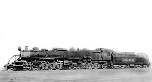Santa-Fe-Steam-Locomotive-Photo-3000-2-10-10-2-Articulated-ATSF-railroad-train