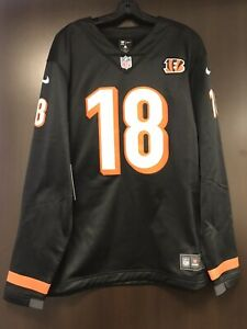 Details about Nike Mens NFL Cincinnati Bengals AJ Green #18 Therma Long Sleeve Size XL