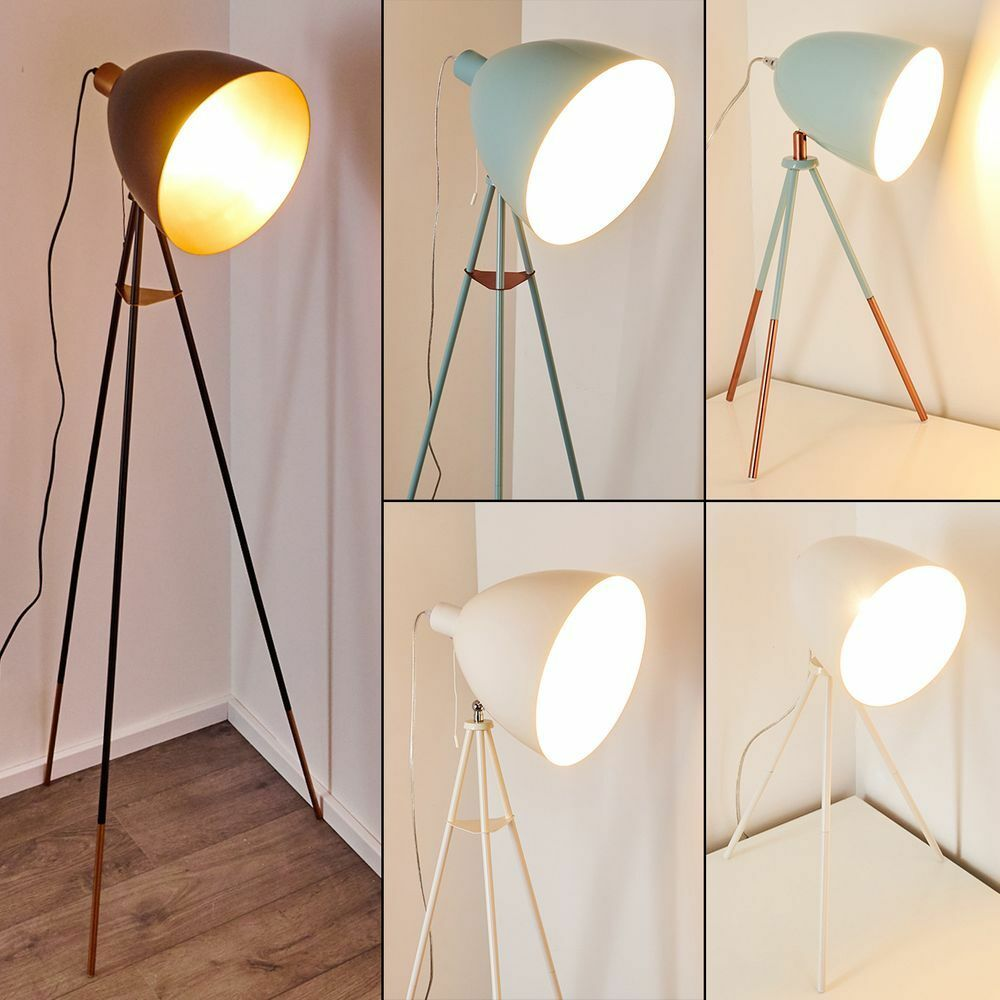 Moderne Retro Stehleuchte Malingsbo Diele Flur Stand Lampe Schlaf Wohn Zimmer