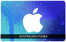 $20 tarjeta de regalo de Australia Apple iTunes certificado código del cupón de Australia iTunes