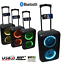 thumbnail 1 - ABRATO S-2802 + DAC (S-TV) BLUETOOTH KARAOKE POWERED SPEAKER + 2 WIRELESS MIC'S