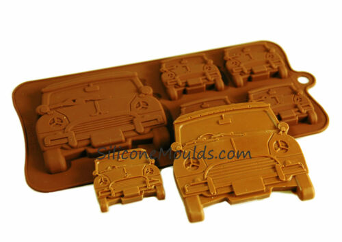MINI TYPE Vehicle Car Accessory Chocolate Silicone Bakeware Mould Accessories