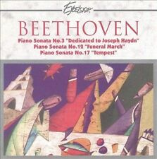 Beethoven Piano Sonata 3, 12, 17 Eliso Bolkvadze Excelsior Platinum Masters