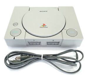 Sony PlayStation 1 PS1 Console w/ Power Cord SCPH-7501 Mostly Working Parts
