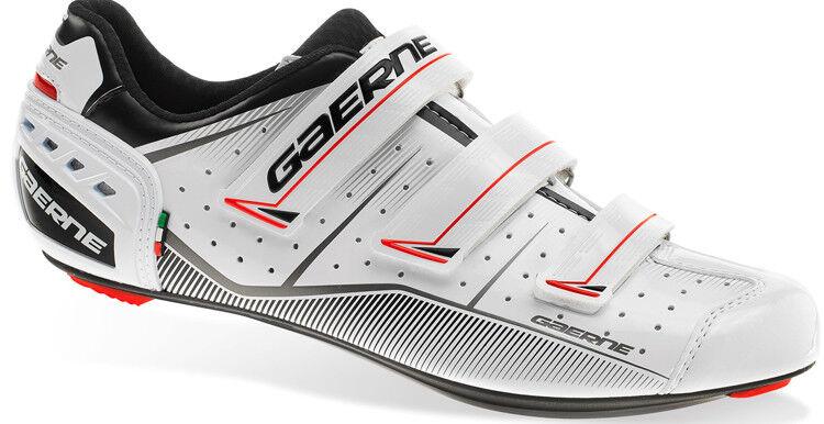 SCARPEG. Record Scarpe Bici Da Corsa Gaerne Bianche Taglia 44