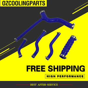 BEST-1962-1976-Silicone-Radiator-Cooling-Hose-Kit-FITS-for-MG-MGB-GT-BLUE