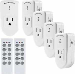 BN-LINK-Wireless-Remote-Control-Outlet-Switch-Power-Plug-In-for-lights-LED-bulbs