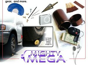Mega-Alumi-Weather-Proof-Container-3-5-034-x-1-75-034-Geocache-Hunting-Spices-Bits