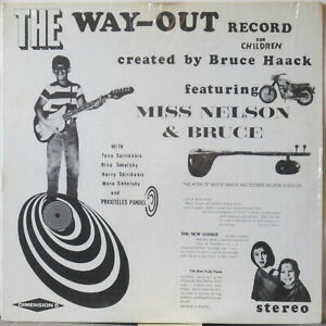 BRUCE-HAACK-The-Way-Out-Record-for-Children-LP-w-wrong-Back-cvr-UNPLAYED-Shrink
