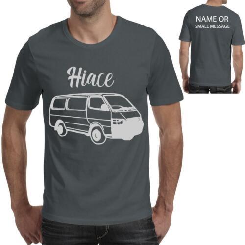 Hiace Inspiré Sketch Art Tee Imprimé Cadeau T-Shirt