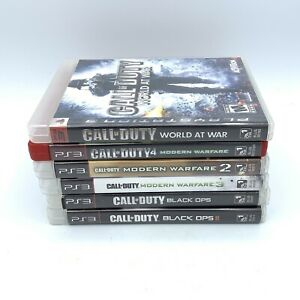 Call-of-Duty-6-Game-Lot-Black-Ops-1-2-Modern-Warfare-1-2-3-PlayStation-3-PS3