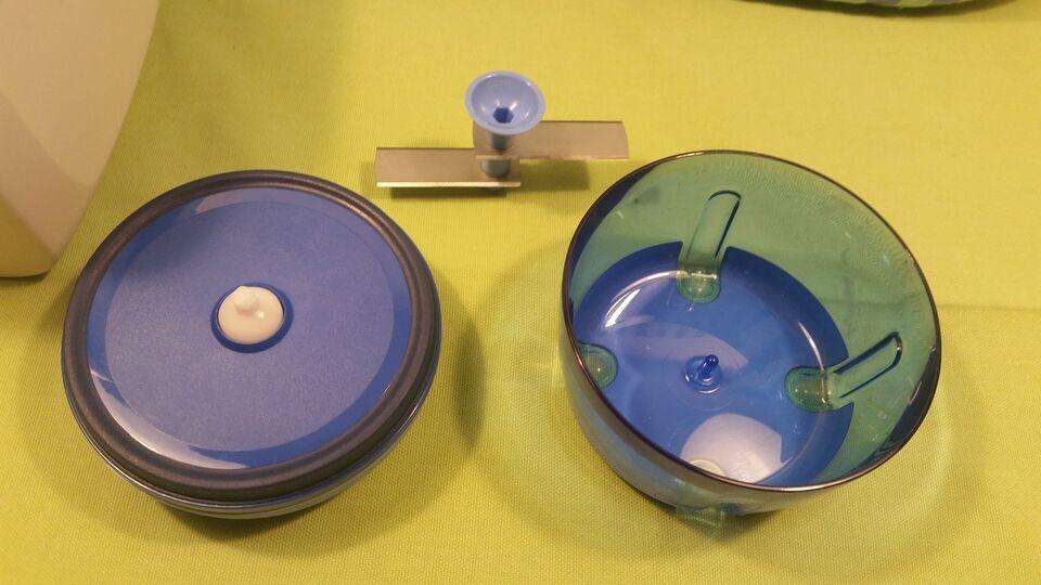 Plastik, Tupperware, Brødkasse og Minihakker