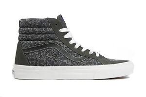 0ef02158ba Vans Sk8 Hi Reissue Liberty Tonal Paisley Grey Men s Skate Shoes ...