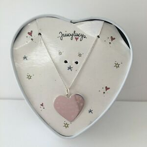 Juicylucy-Sliver-Heart-Chain-with-Message-New