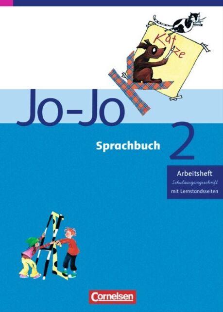 Jo-Jo Sprachbuch - Ausgabe C: 2. Schuljahr - Arbeitsheft in Schulausgangsschrift