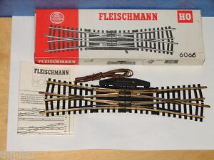 Fleischmann ( 6066 ) Tjd Electrique Rails En Laiton Boite Echelle Ho